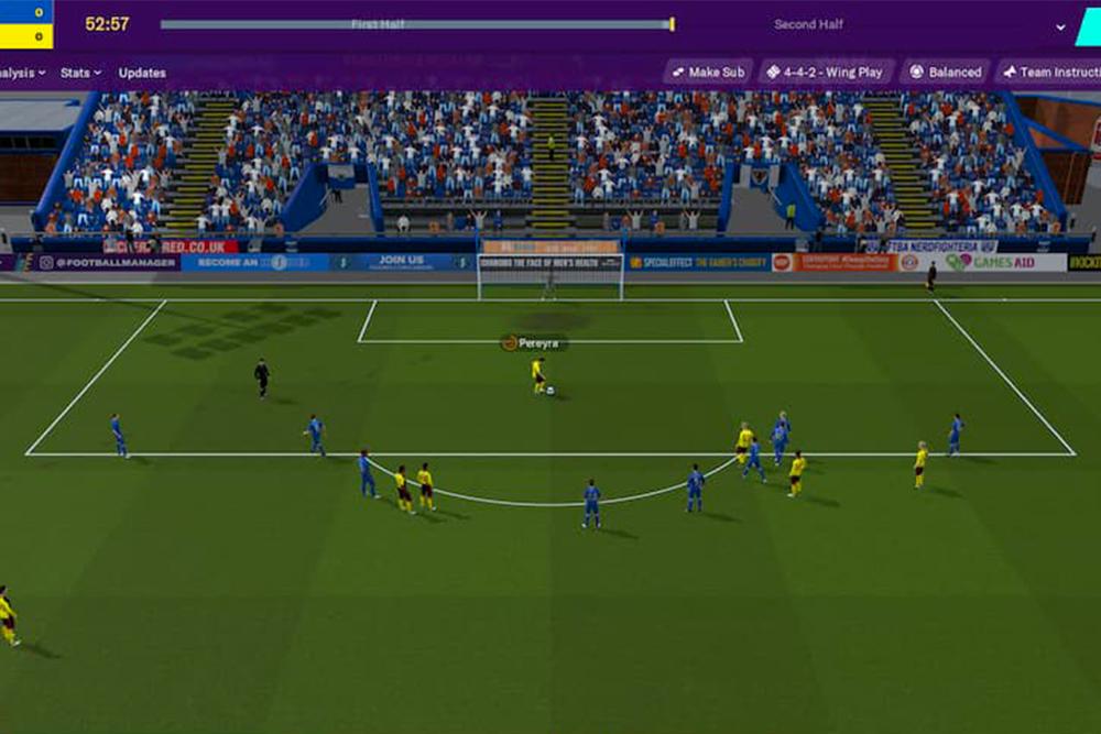 jeu de foot et de strategie